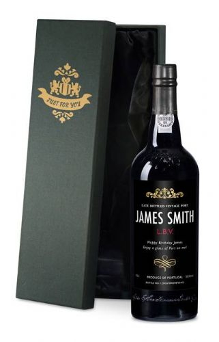 Personalised Traditional Black Port